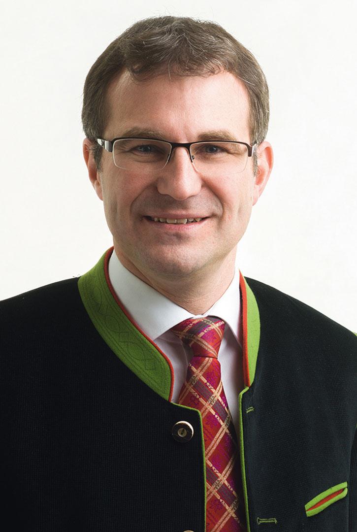 Bürgermeister Hannes Holzner