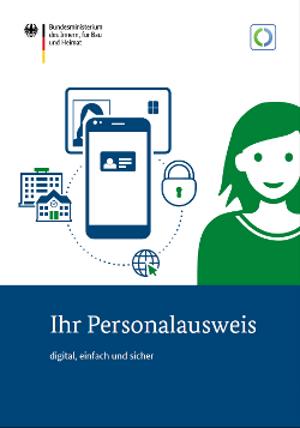 Titelblatt Infobroschüre Personalausweis