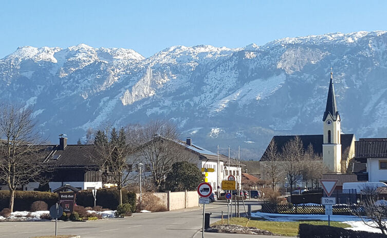 Ortseingang Panorama