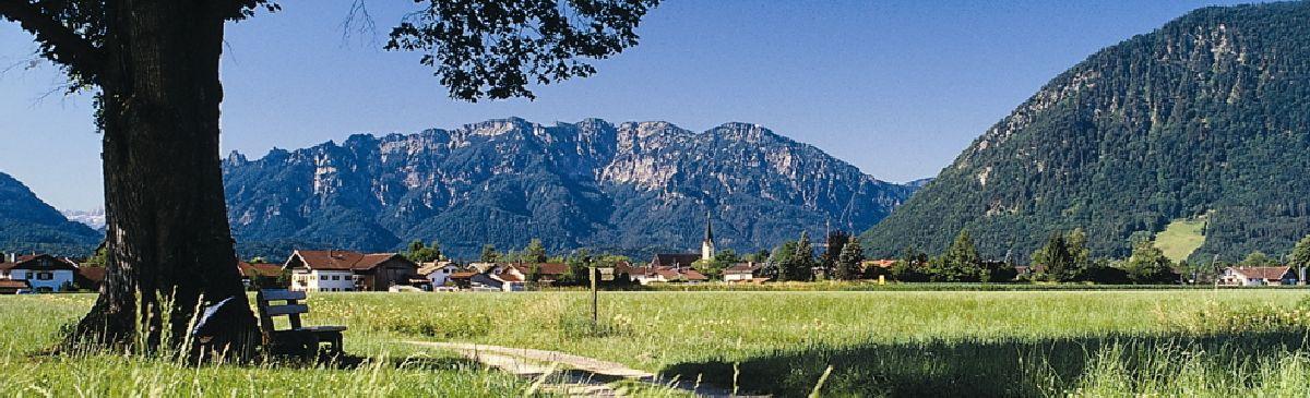 Piding Ortsansicht Panorama
